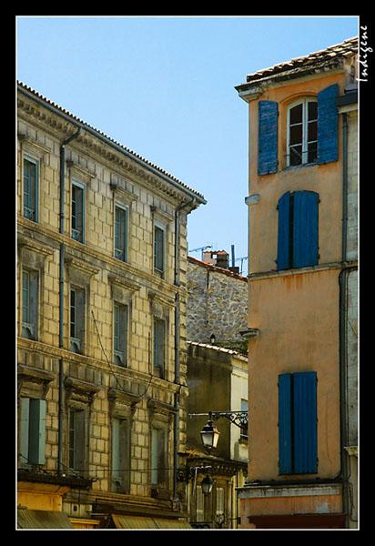 Les façades colorées
