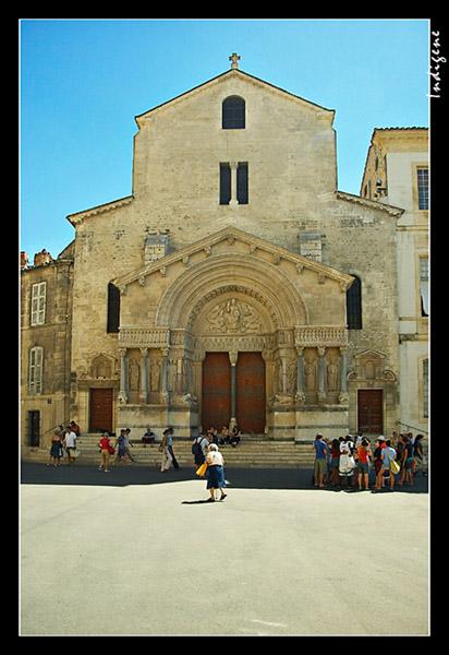 L'église de Arles