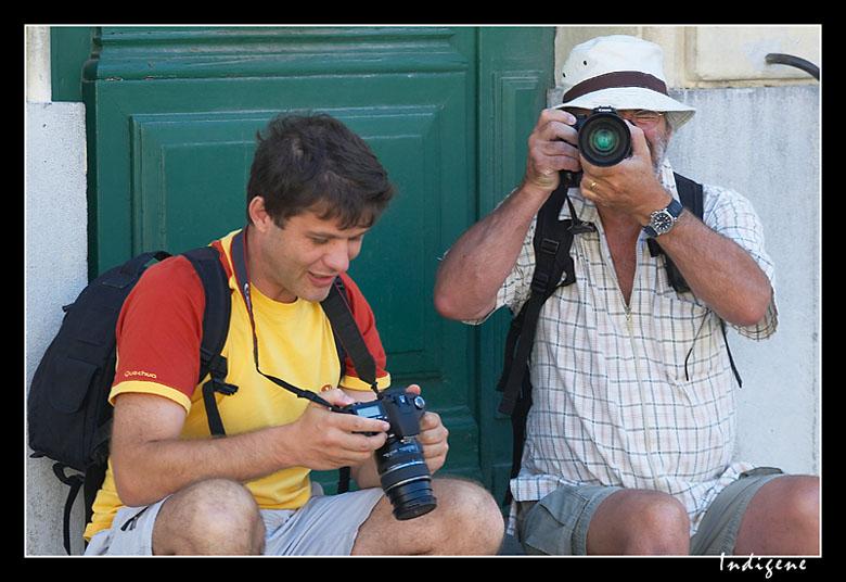 Les touristes à Arles