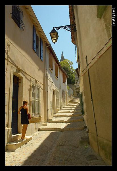 Une ruelle à Arles