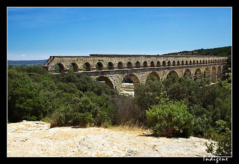 A la découverte du Pont du Gard