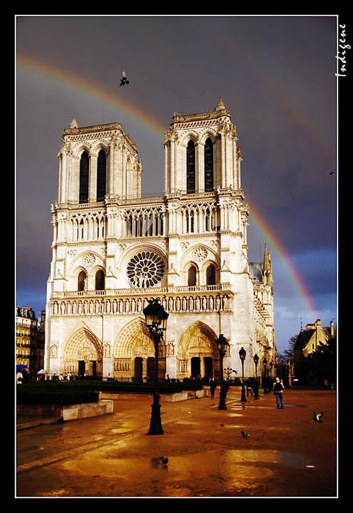 L'arc-en-ciel de Notre-Dame