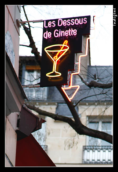 Les dessous de Ginette
