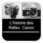 Collection de tous les appareils photo reflex Canon et galeries