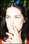 photo La belle fumeuse