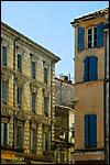 photo Les façades colorées