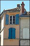 photo La maison aux volets bleus