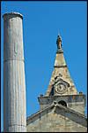 photo L'église et la colonne