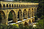 photo Travaux de restauration du Pont du Gard