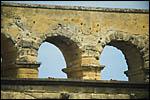 photo Troisième rangée d'arches du Pont du Gard