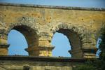 photo Détail des voutes du Pont Du Gard