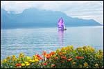 photo Voilier sur le lac Léman