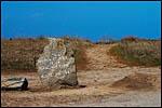 photo Dolmen et plage de la planche à puare