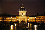 photo Le Pont des Arts et l'Institut de France