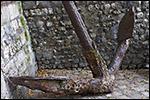 photo La vieille ancre rouillée
