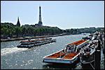 photo Bâteaux mouches sur la Seine