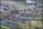 photo Château de Chasselas sous la neige