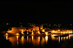 photo Château de Collioure de nuit