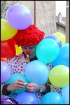 photo Le clown et les ballons