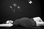 photo Femme enceinte allongée