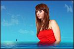 photo Lilou à la mer
