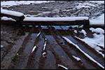 photo Rondins sous la neige