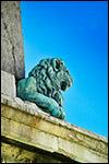 photo La statue du lion