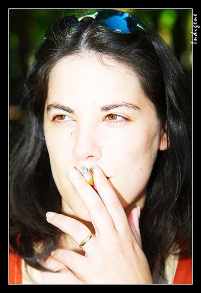 La belle fumeuse