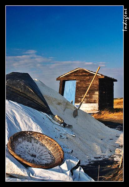 La cabane à sel
