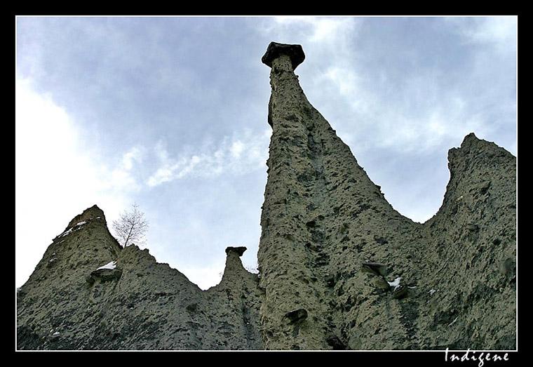 Les cheminées de fées