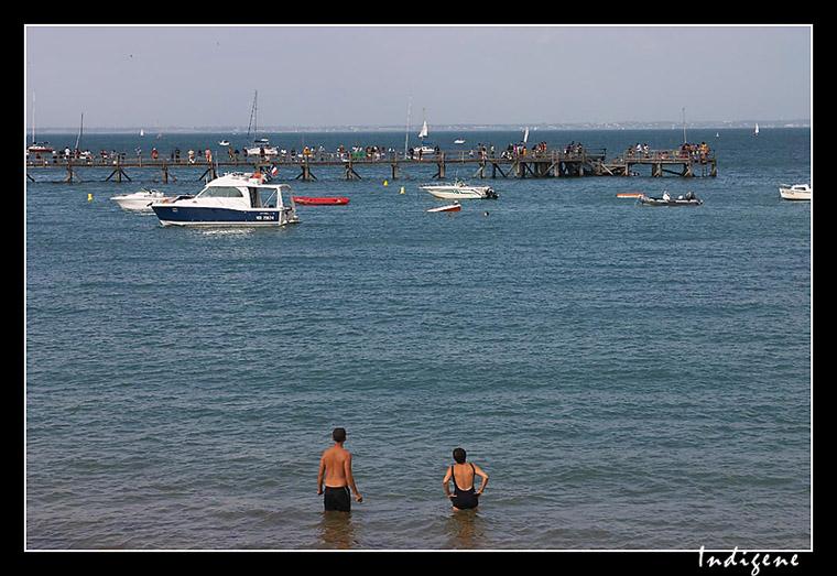 Baigneurs à Noirmoutier