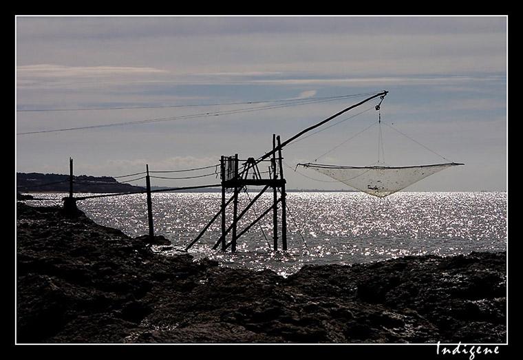 La pêche au carrelet