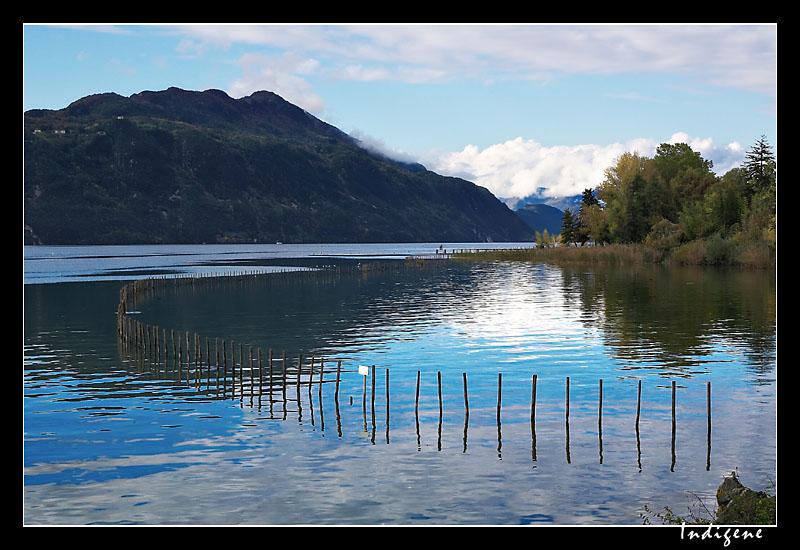 Lac du Bourget en Savoie