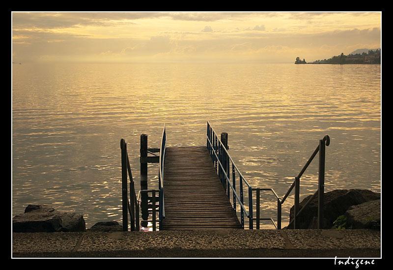 L'embarcadère à Montreux
