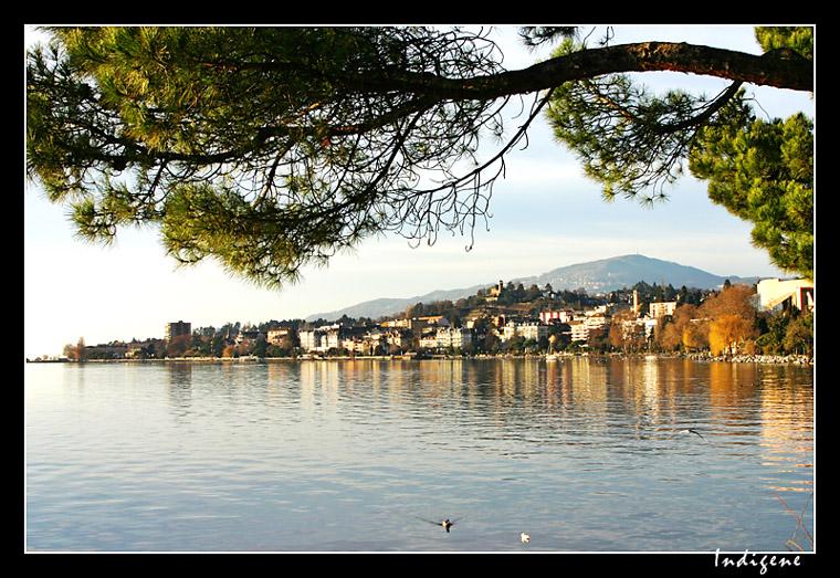 L'automne à Montreux