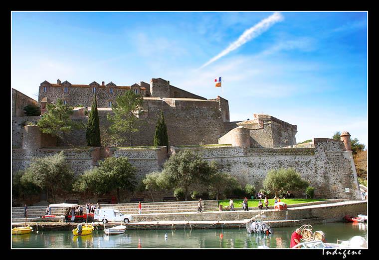 Ch teau royal collioure galerie la m diterran e dans - Chateau royal collioure ...