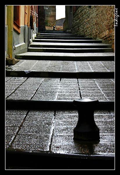 Une ruelle à Elne