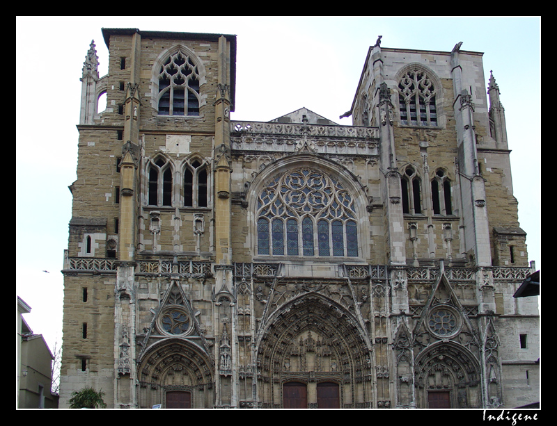 Cathédrale Saint-Maurice à Vienne