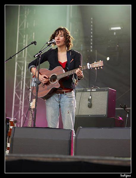 Sur la scène Zebrock en 2011