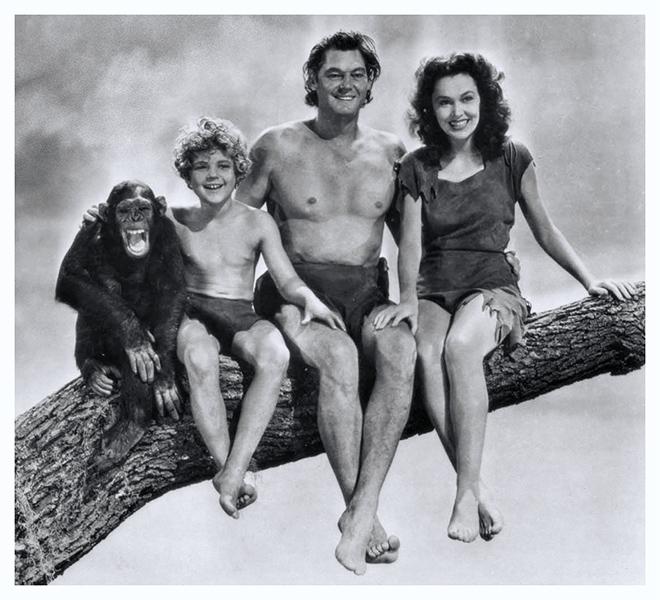 Tarzan et Cheetah