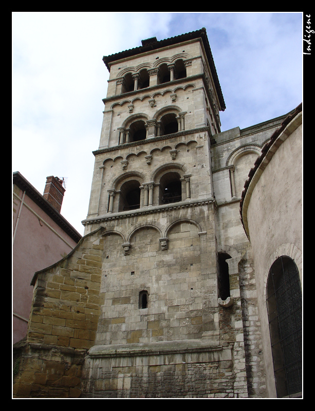L'abbaye Saint André Le Bas