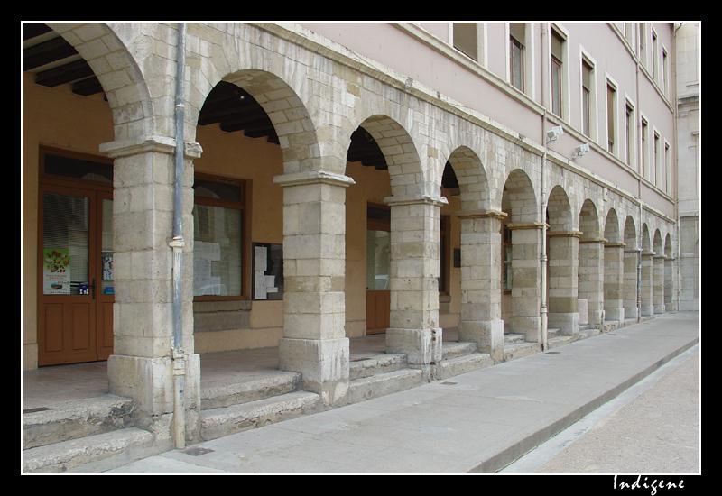 Les arcades à Vienne