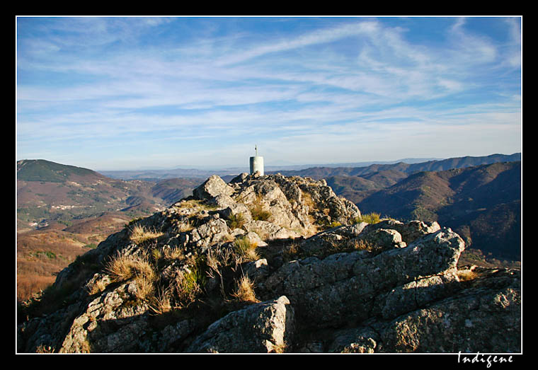 Les monts de l'Ardèche