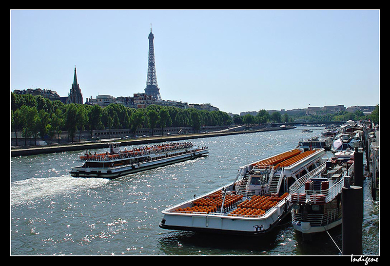 Bâteaux mouches sur la Seine