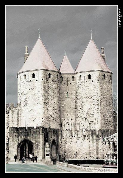 L'entrée de Carcassonne
