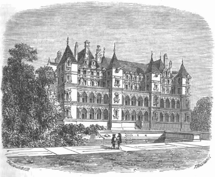 Château de Madrid dans le Bois de Boulogne