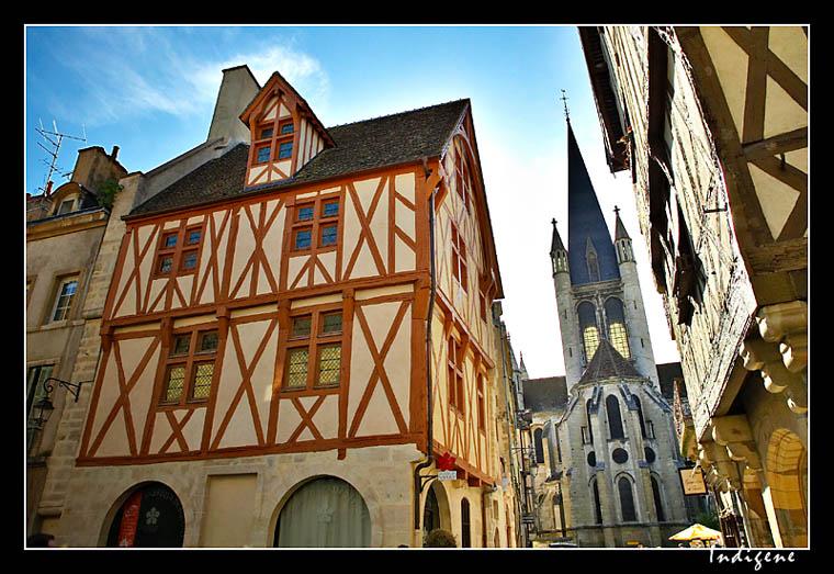 Maison à colombage à Dijon
