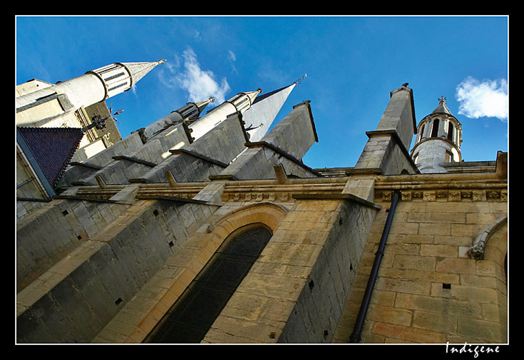 Les flèches de Notre-Dame