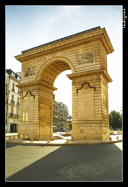La Porte Darcy à Dijon