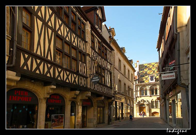 Rue Liegard à Dijon
